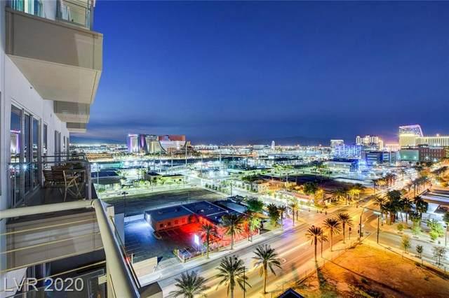 200 Hoover Avenue #910, Las Vegas, NV 89101 (MLS #2240489) :: The Perna Group