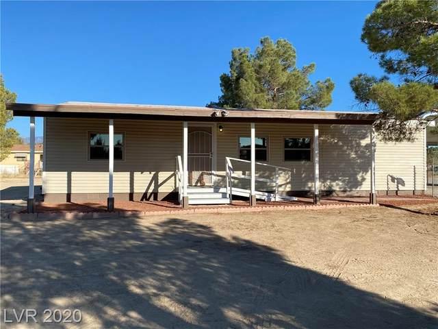1110 W Shady Lane, Pahrump, NV 89060 (MLS #2240605) :: Signature Real Estate Group