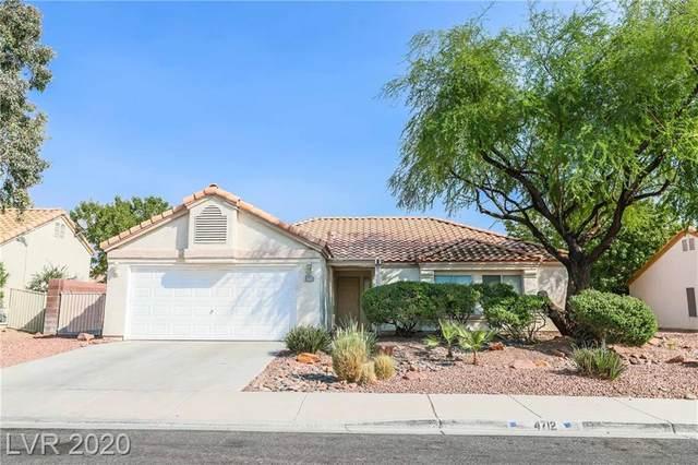 4712 Gonzales Drive, Las Vegas, NV 89130 (MLS #2240726) :: Hebert Group | Realty One Group
