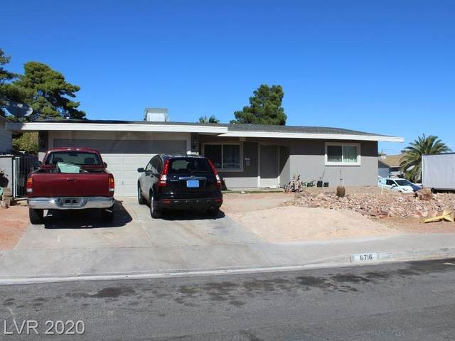 6716 Oveja Circle, Las Vegas, NV 89107 (MLS #2240826) :: Hebert Group | Realty One Group