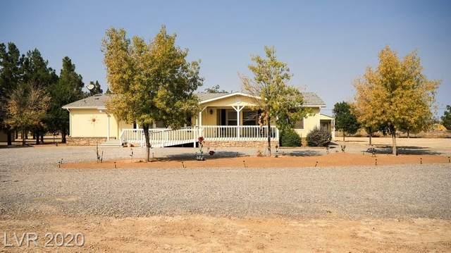 180 Blosser Ranch Road, Pahrump, NV 89060 (MLS #2240845) :: Hebert Group | Realty One Group