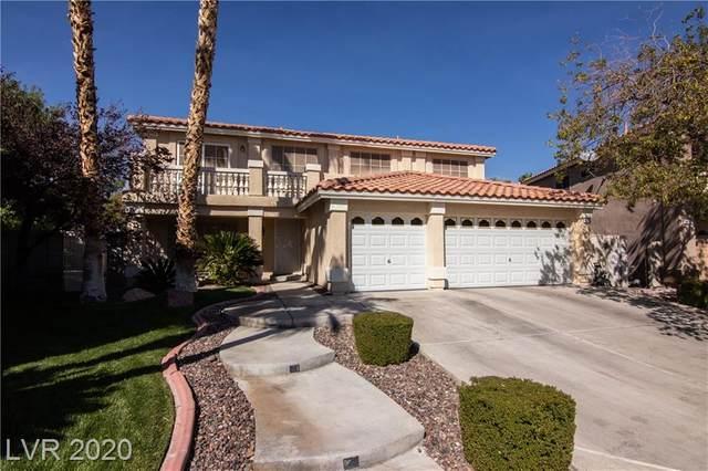 9715 Ramhorn Canyon Street, Las Vegas, NV 89183 (MLS #2241048) :: Hebert Group | Realty One Group