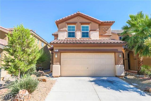 601 Belsay Castle Court, Las Vegas, NV 89178 (MLS #2241068) :: The Shear Team