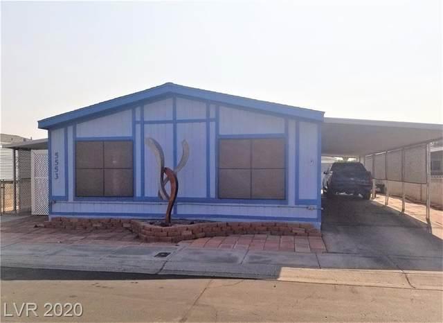 5553 Aldama Road, Las Vegas, NV 89122 (MLS #2241161) :: Signature Real Estate Group