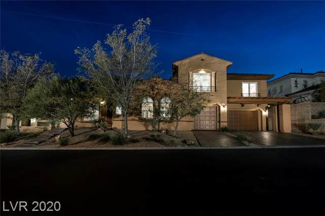 709 Coriander Canyon Court, Las Vegas, NV 89138 (MLS #2241205) :: Signature Real Estate Group