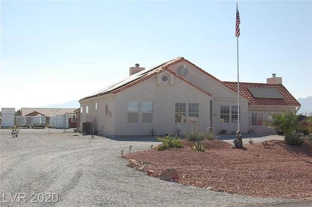 781 Garden Lane, Pahrump, NV 89048 (MLS #2241276) :: Kypreos Team