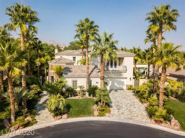 11408 Cedar Log Court, Las Vegas, NV 89135 (MLS #2241329) :: The Lindstrom Group