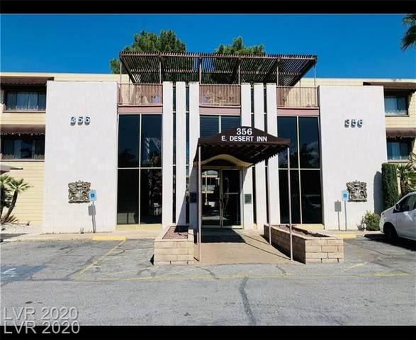 356 E Desert Inn Road #111, Las Vegas, NV 89109 (MLS #2241417) :: Jeffrey Sabel