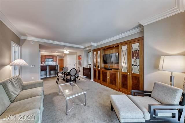 125 Harmon Avenue #1121, Las Vegas, NV 89109 (MLS #2241441) :: Team Michele Dugan