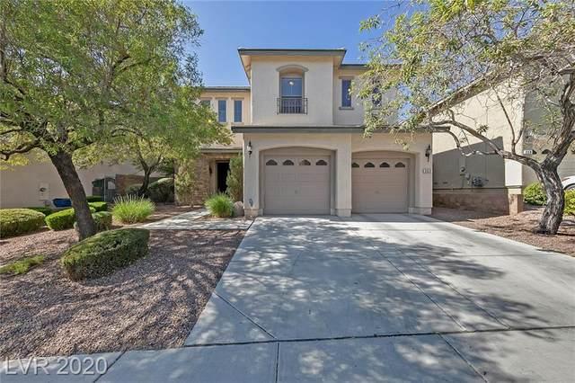 363 Carlisle Crossing Street, Las Vegas, NV 89138 (MLS #2241569) :: The Lindstrom Group