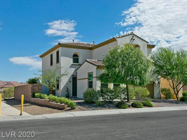 340 Via De Pellegrini, Henderson, NV 89011 (MLS #2241766) :: The Lindstrom Group