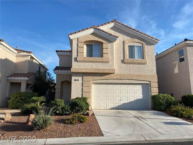 193 Hickory Heights, Las Vegas, NV 89148 (MLS #2241775) :: The Lindstrom Group