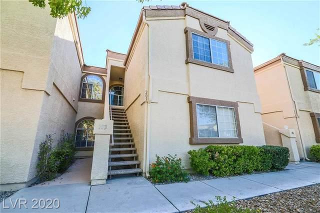 3661 Renovah Street #203, Las Vegas, NV 89129 (MLS #2241948) :: The Lindstrom Group