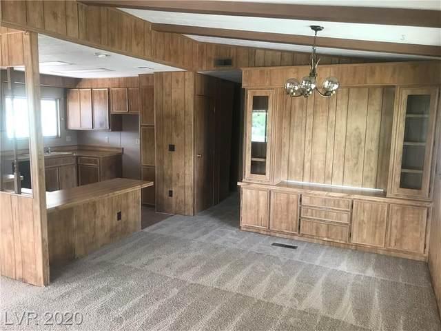 440 Clark Lane, Indian Springs, NV 89018 (MLS #2241968) :: Jeffrey Sabel
