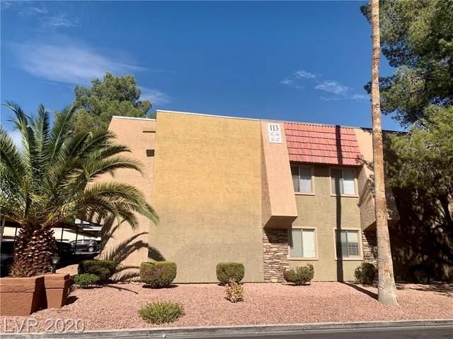 5044 River Glen Drive #142, Las Vegas, NV 89103 (MLS #2242080) :: The Perna Group