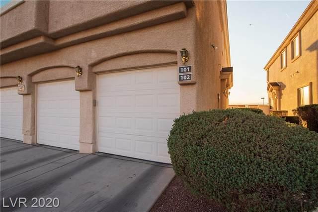3031 Errol Flynn Street #101, Las Vegas, NV 89122 (MLS #2242138) :: Kypreos Team