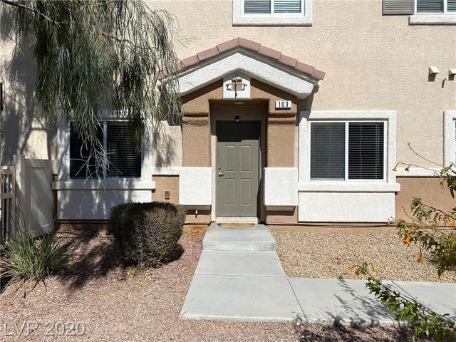 6041 Emma Bay Court #103, North Las Vegas, NV 89031 (MLS #2242207) :: The Mark Wiley Group | Keller Williams Realty SW