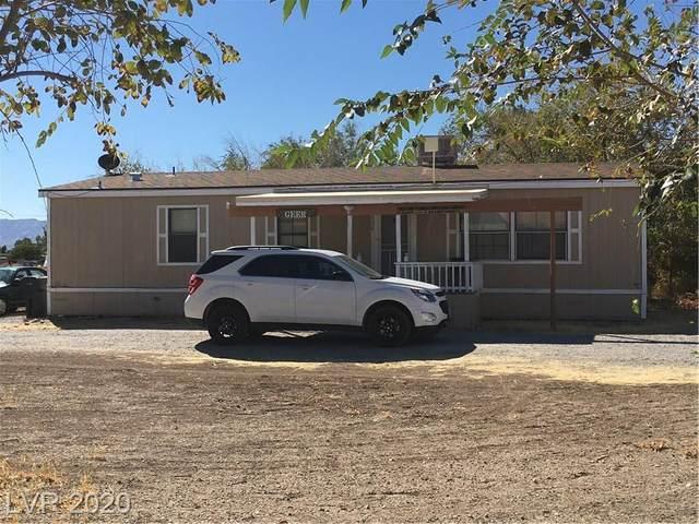 520 S Woodchips Road, Pahrump, NV 89048 (MLS #2242339) :: Jeffrey Sabel