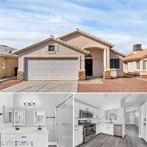 2973 Emerald Creek Drive, Las Vegas, NV 89156 (MLS #2242388) :: The Lindstrom Group
