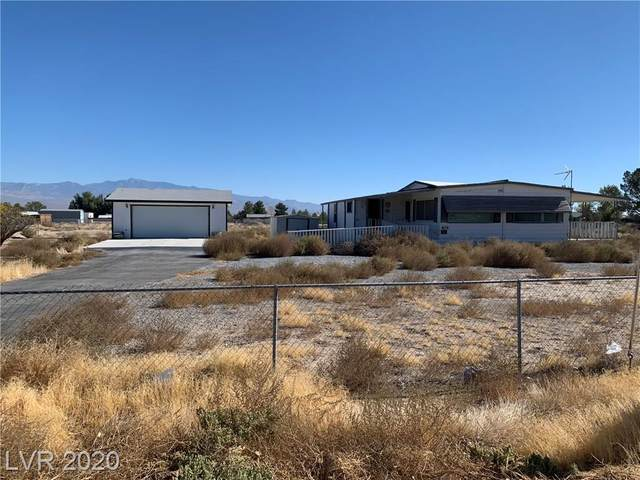 401 Bannavitch Street, Pahrump, NV 89048 (MLS #2242478) :: Hebert Group | Realty One Group