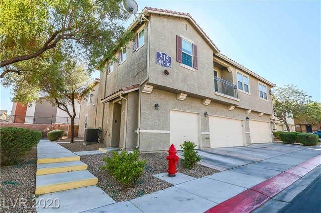 315 Kensington Palace Avenue #103, North Las Vegas, NV 89032 (MLS #2242686) :: Signature Real Estate Group