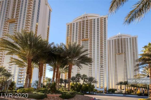 145 E Harmon Avenue #2709, Las Vegas, NV 89109 (MLS #2243552) :: Signature Real Estate Group