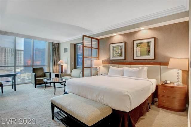 145 Harmon Avenue #1503, Las Vegas, NV 89109 (MLS #2243588) :: Signature Real Estate Group