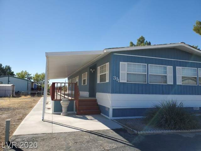 311 Greenwater Street, Pahrump, NV 89048 (MLS #2243648) :: The Lindstrom Group