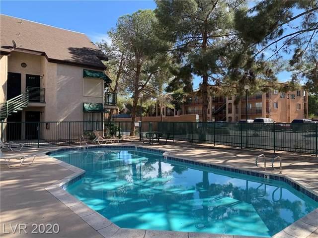480 Elm Drive #101, Las Vegas, NV 89169 (MLS #2244026) :: The Lindstrom Group