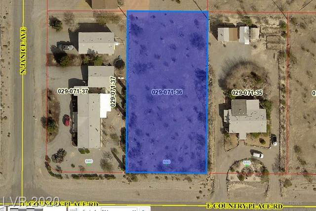 860 Country Place Road, Pahrump, NV 89060 (MLS #2244098) :: Vestuto Realty Group