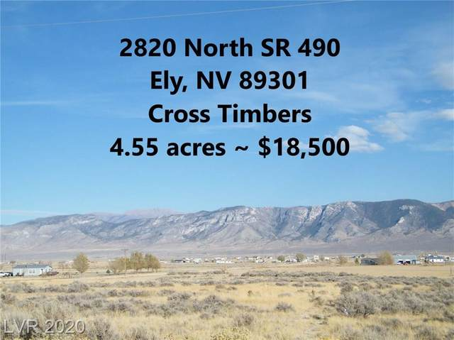 2820 North State Route 490, Ely, NV 89301 (MLS #2244498) :: The Lindstrom Group