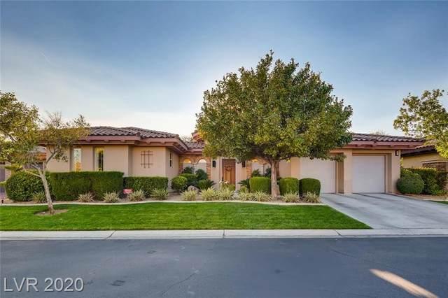 7 Cross Ridge Street, Las Vegas, NV 89135 (MLS #2245966) :: The Lindstrom Group