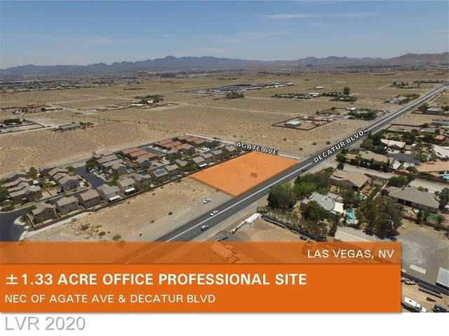 Decatur Blvd, Las Vegas, NV 89124 (MLS #2245992) :: The Shear Team