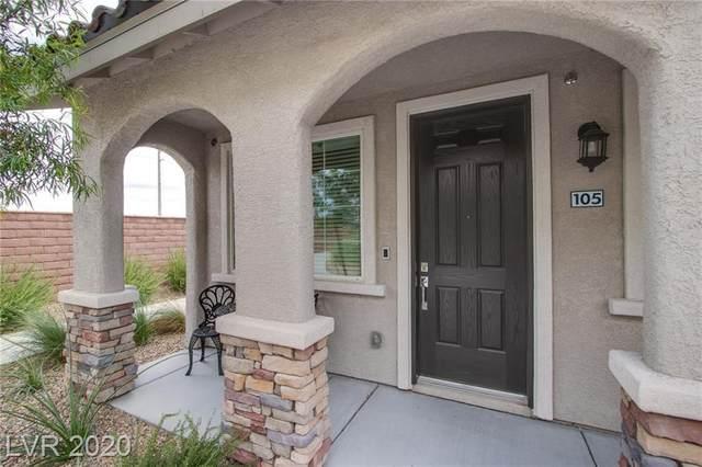8466 Classique Avenue #105, Las Vegas, NV 89178 (MLS #2246001) :: Hebert Group   Realty One Group