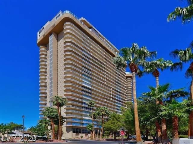 3111 Bel Air Drive 4G, Las Vegas, NV 89109 (MLS #2246671) :: Signature Real Estate Group