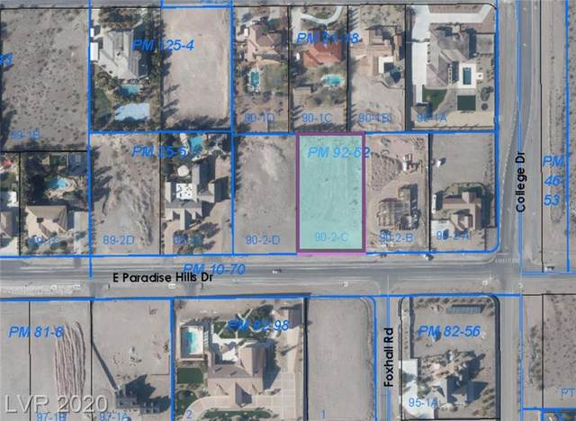 470 Paradise Hills Drive, Henderson, NV 89002 (MLS #2246914) :: The Perna Group