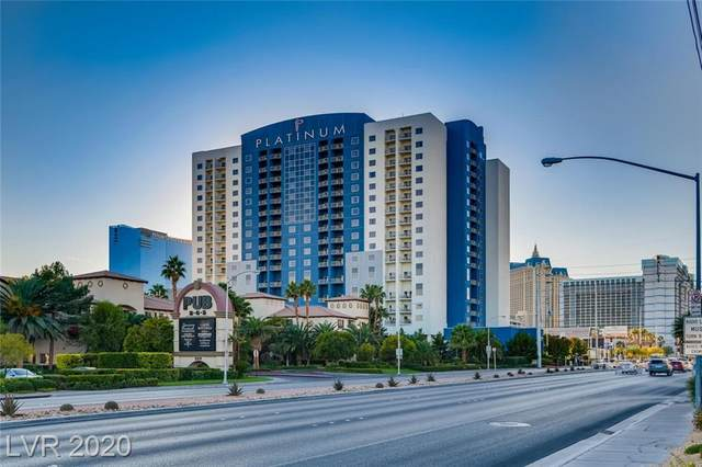 211 Flamingo Road #1219, Las Vegas, NV 89169 (MLS #2247068) :: The Perna Group