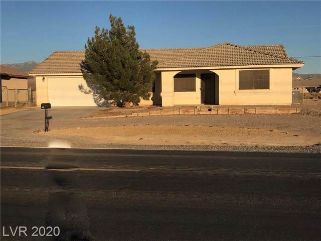 2451 S Dandelion Street, Pahrump, NV 89048 (MLS #2247430) :: The Lindstrom Group