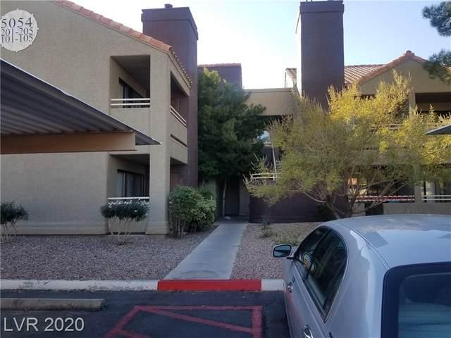 5054 Rainbow Boulevard #103, Las Vegas, NV 89118 (MLS #2247547) :: Hebert Group | Realty One Group