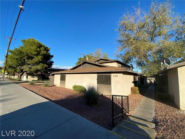 220 N Bruce Street D, Las Vegas, NV 89101 (MLS #2248110) :: Hebert Group | Realty One Group