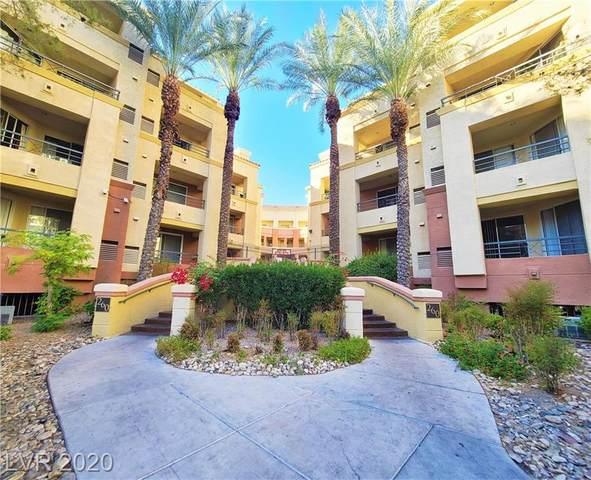 260 Flamingo Road #325, Las Vegas, NV 89169 (MLS #2248827) :: Signature Real Estate Group