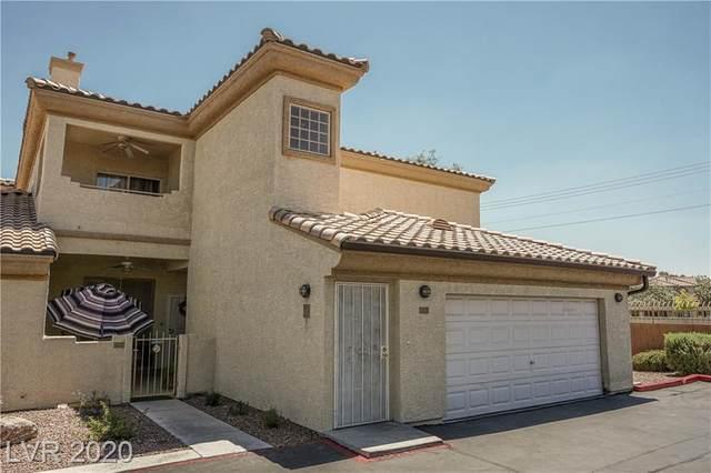 6909 Cobre Azul Avenue #201, Las Vegas, NV 89108 (MLS #2249510) :: The Lindstrom Group