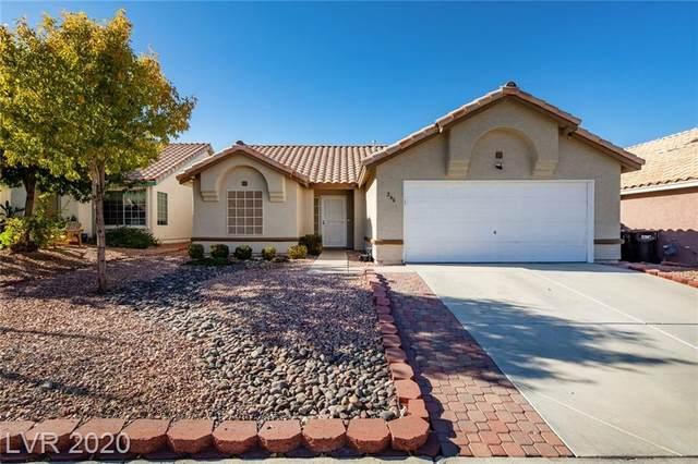 266 Prairie Rose Street, Henderson, NV 89015 (MLS #2249629) :: Signature Real Estate Group