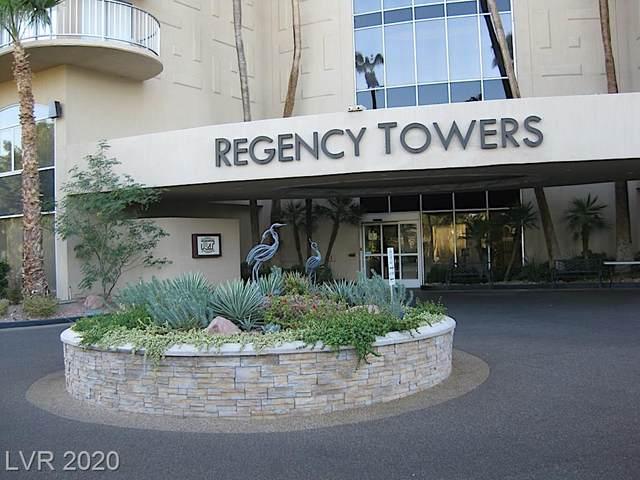 3111 Bel Air Drive 27F, Las Vegas, NV 89109 (MLS #2249732) :: Signature Real Estate Group
