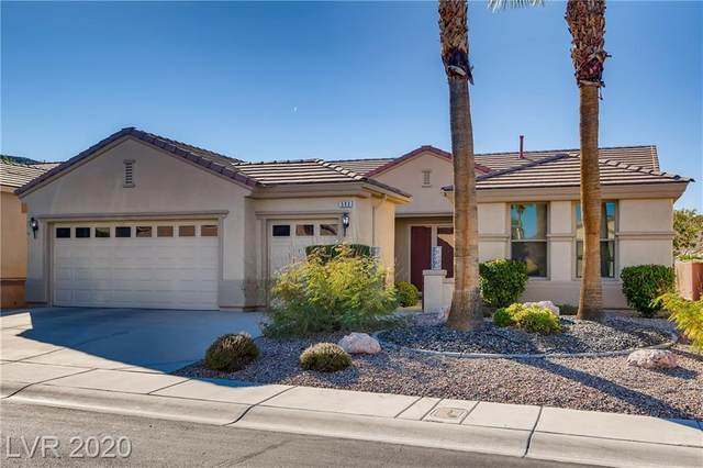 593 Mountain Links Drive, Henderson, NV 89012 (MLS #2249933) :: The Lindstrom Group