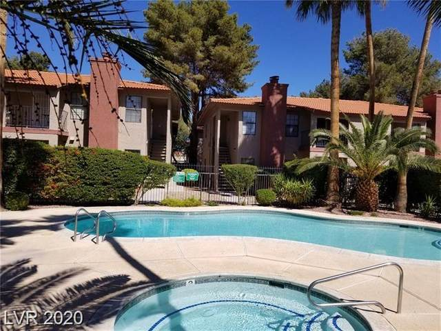 5576 Rochelle Avenue 16A, Las Vegas, NV 89103 (MLS #2250038) :: Jeffrey Sabel