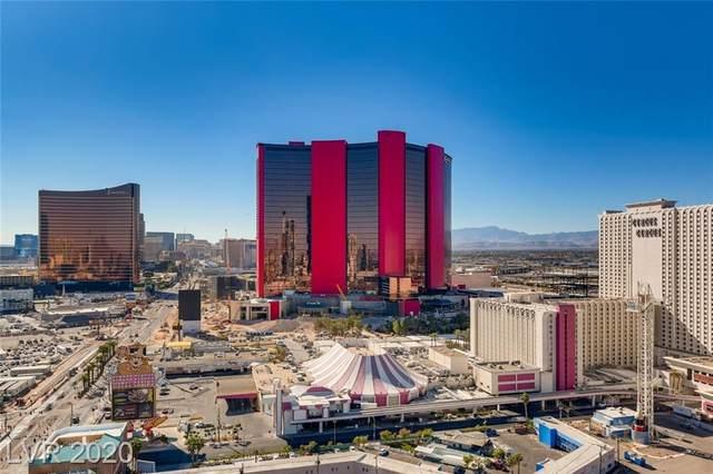 2700 Las Vegas Boulevard #2210, Las Vegas, NV 89109 (MLS #2250050) :: Jeffrey Sabel