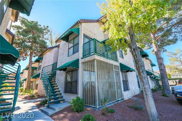 500 Elm Drive #204, Las Vegas, NV 89169 (MLS #2250195) :: Signature Real Estate Group