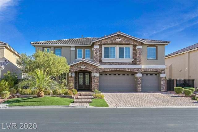 10956 Gaelic Hills Drive, Las Vegas, NV 89141 (MLS #2250204) :: The Lindstrom Group