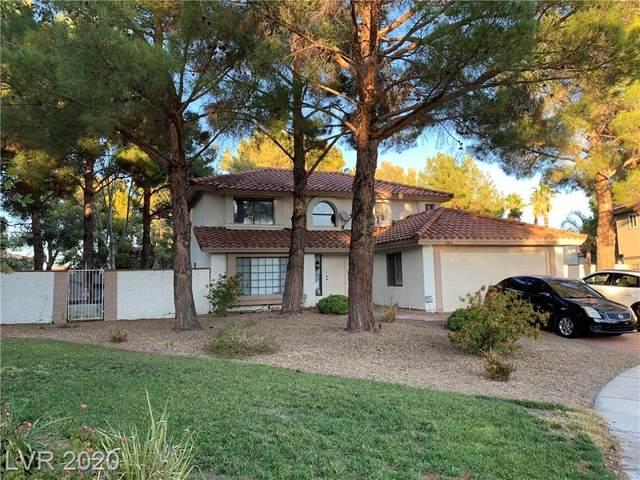 2800 Bluff Cove Circle, Las Vegas, NV 89117 (MLS #2250340) :: The Lindstrom Group